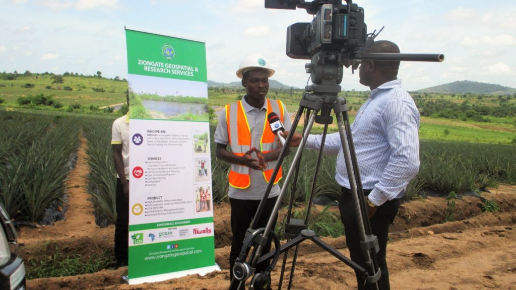 Showcase of disruptive technologies for agriculture – Africa