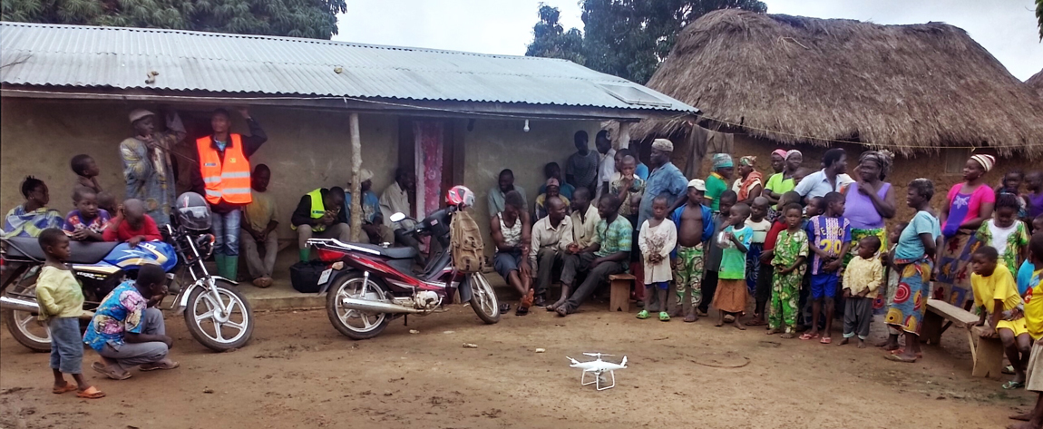 Exploring the adoption of drones in agriculture in Benin: perceptions and willingness of small producers to pay for drone services